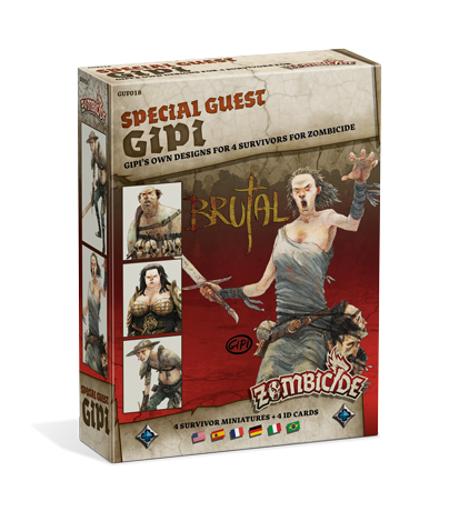 ZOMBICIDE SPECIAL GUEST : GIPI