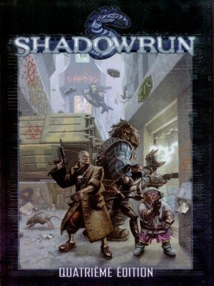 SHADOWRUN 4ème Edition OCCASION (A)