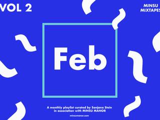 MINSU Mixtapes Vol 2 : Feb