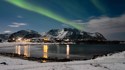 Burst of Northern Lights