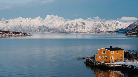 Lakehouse in Norway