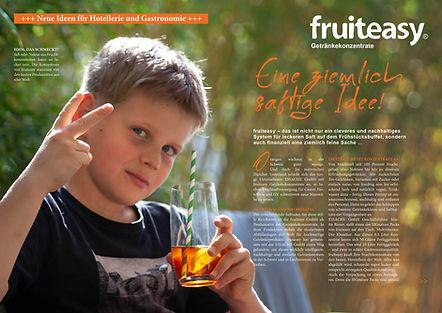 A4 Flyer ESSACHE-fruiteasy - Eine ziemli