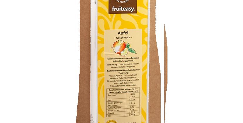 APFEL-GETRÄNK MIT ZUCKER 1.0 Liter, Konzentrat 1+9 für 10 Lt. Getränk