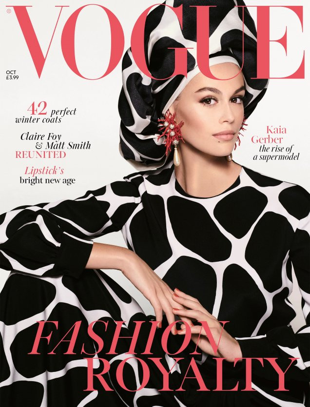 British Vogue Cover October  2019