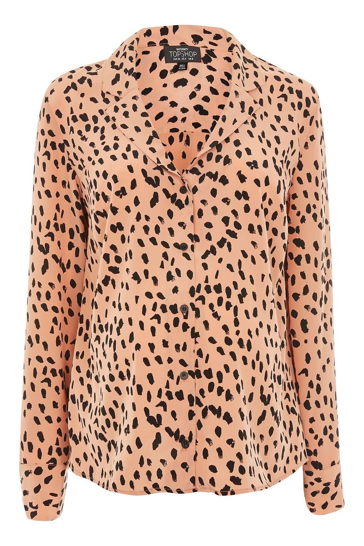 topshop maternity Satin Pyjama Style Shirt