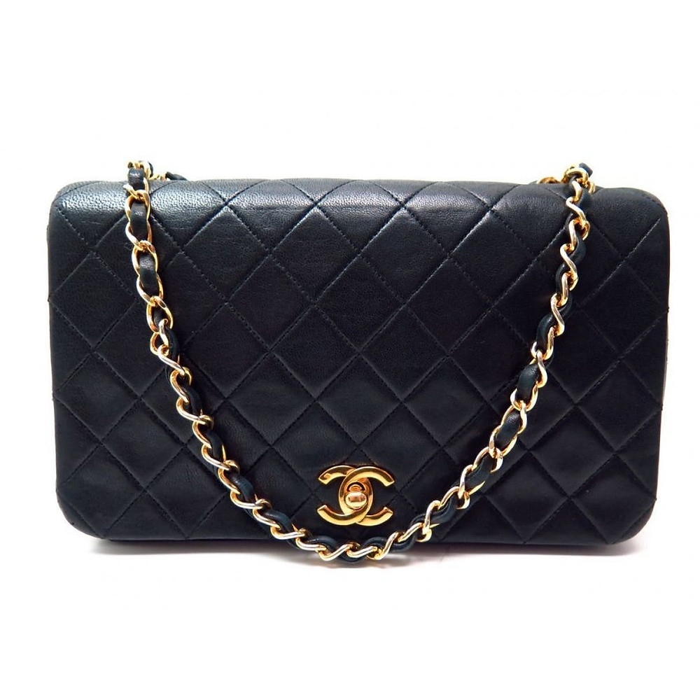 Chanel pre-owned leather bag