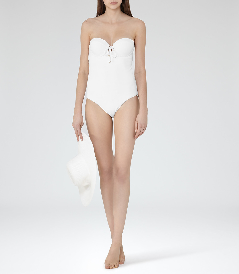 Vero Moda One Shoulder Ruffle Swimsuit
