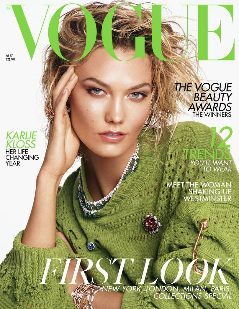British Vogue Cover August 2019
