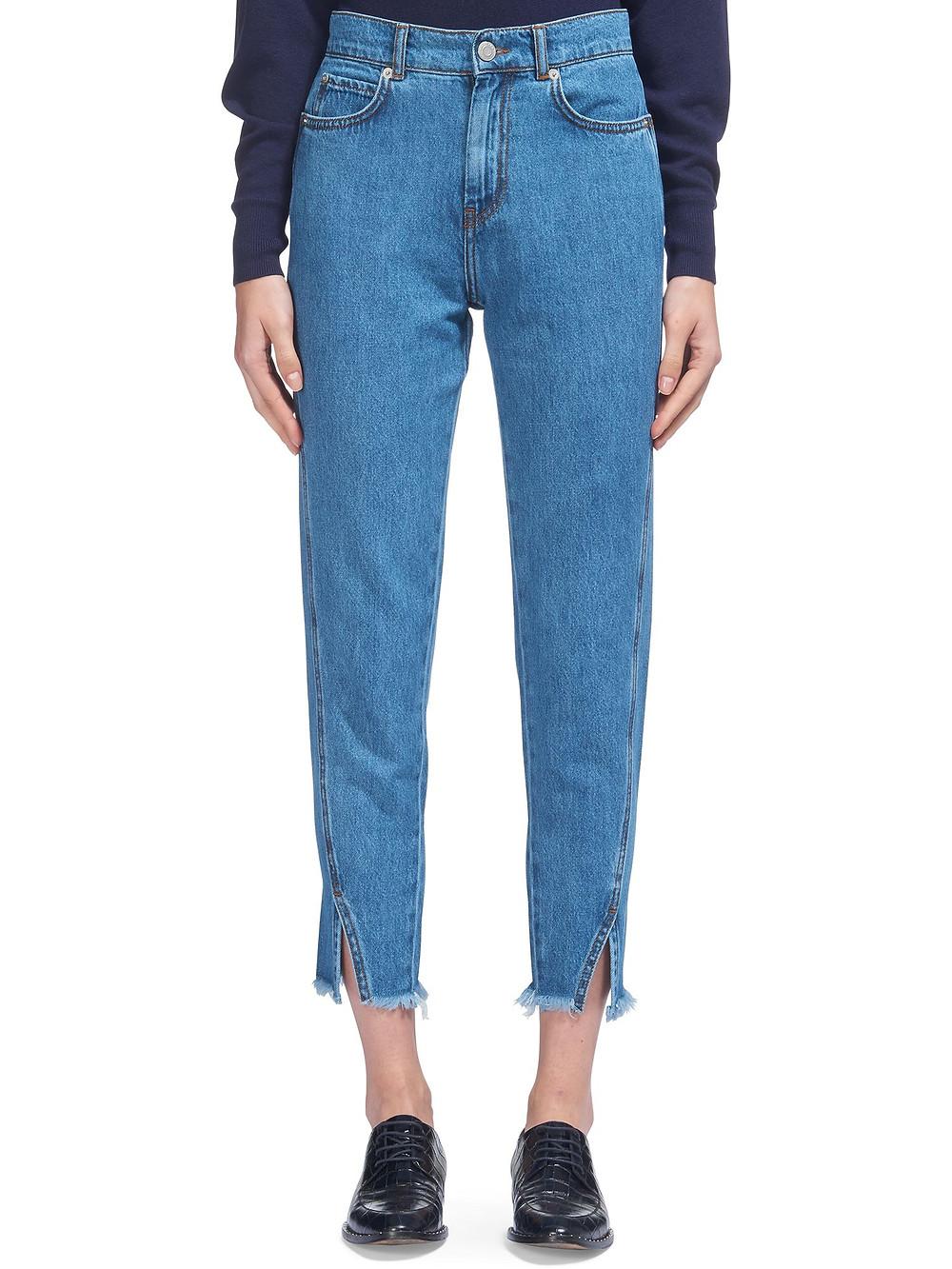 Whistles Split Front Straight Jean