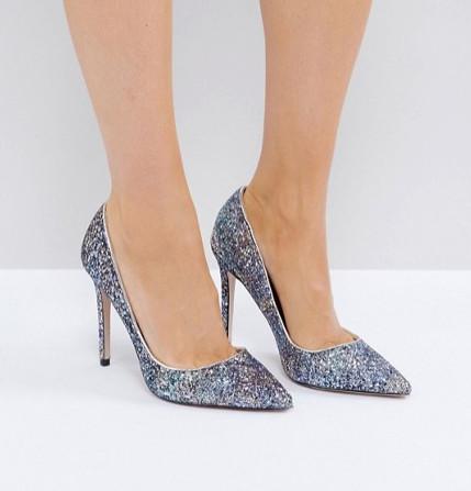 Miss KG Glitter Court Shoes