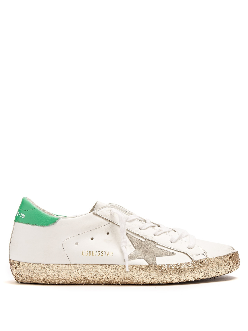 GoldenGooseDeluxe Brand Super Star low-top leather trainers