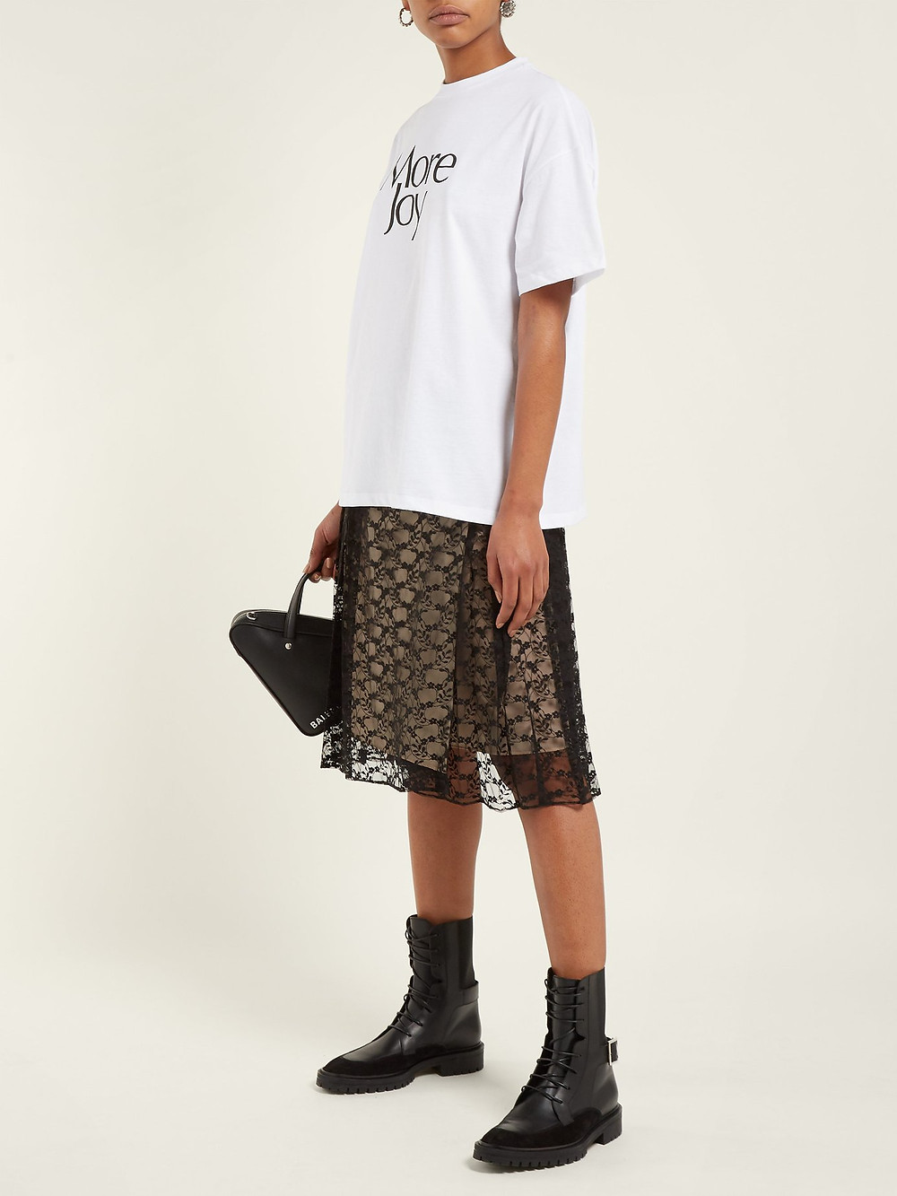CHRISTOPHER KANE  More Joy printed cotton T-shirt
