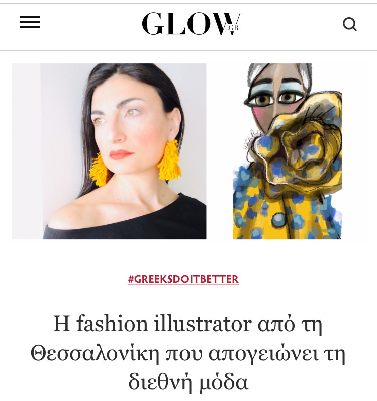 Interview for Glow Magazine June 2019