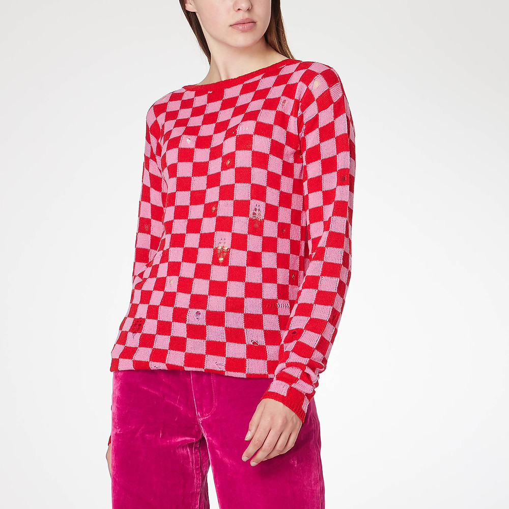 The Marc Jacobs Checked Sweater