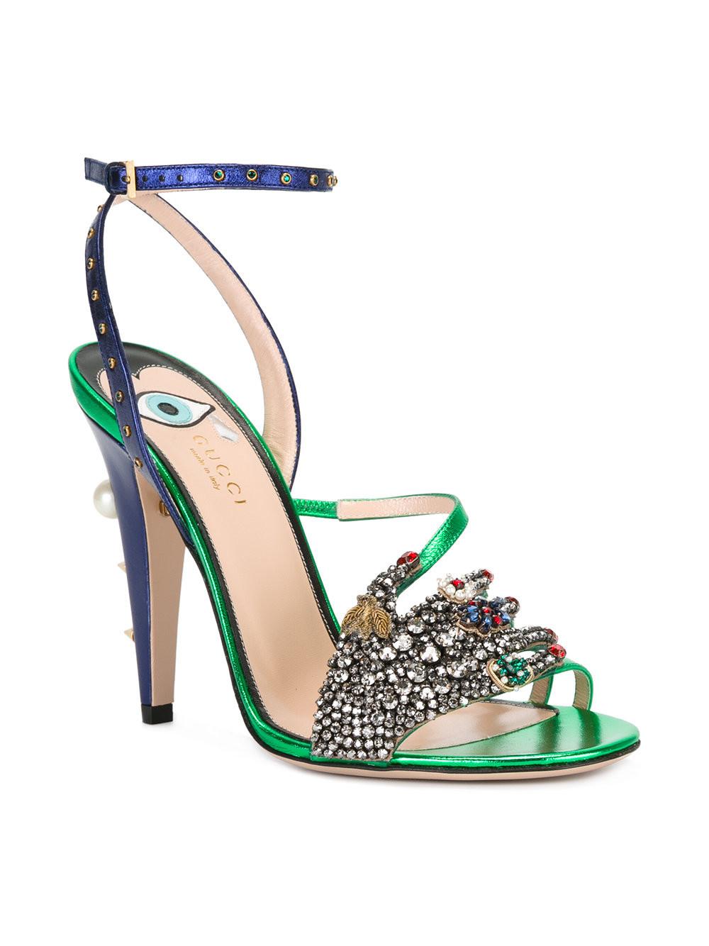 GUCCI  embellished sandals