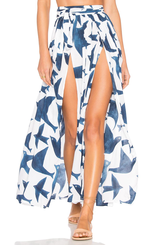 Mara Hoffman Slit Front Skirt