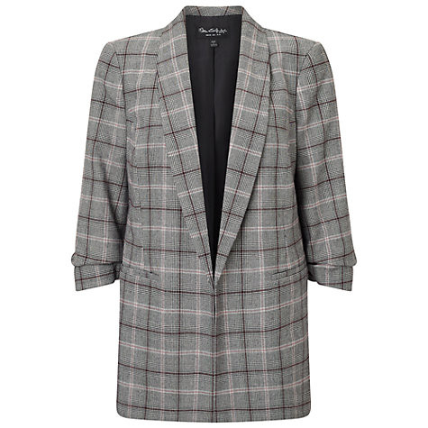 Miss Selfridge Check Blazer