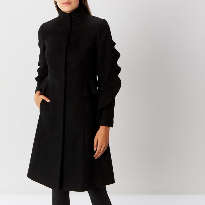 coast Macey Ruffle Coat