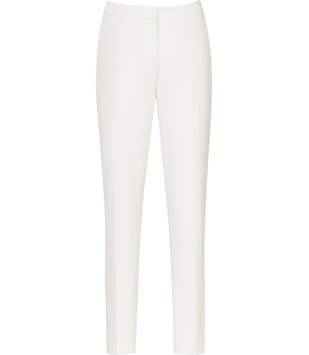 ROX TROUSER  TUXEDO TROUSERS OFF WHITE