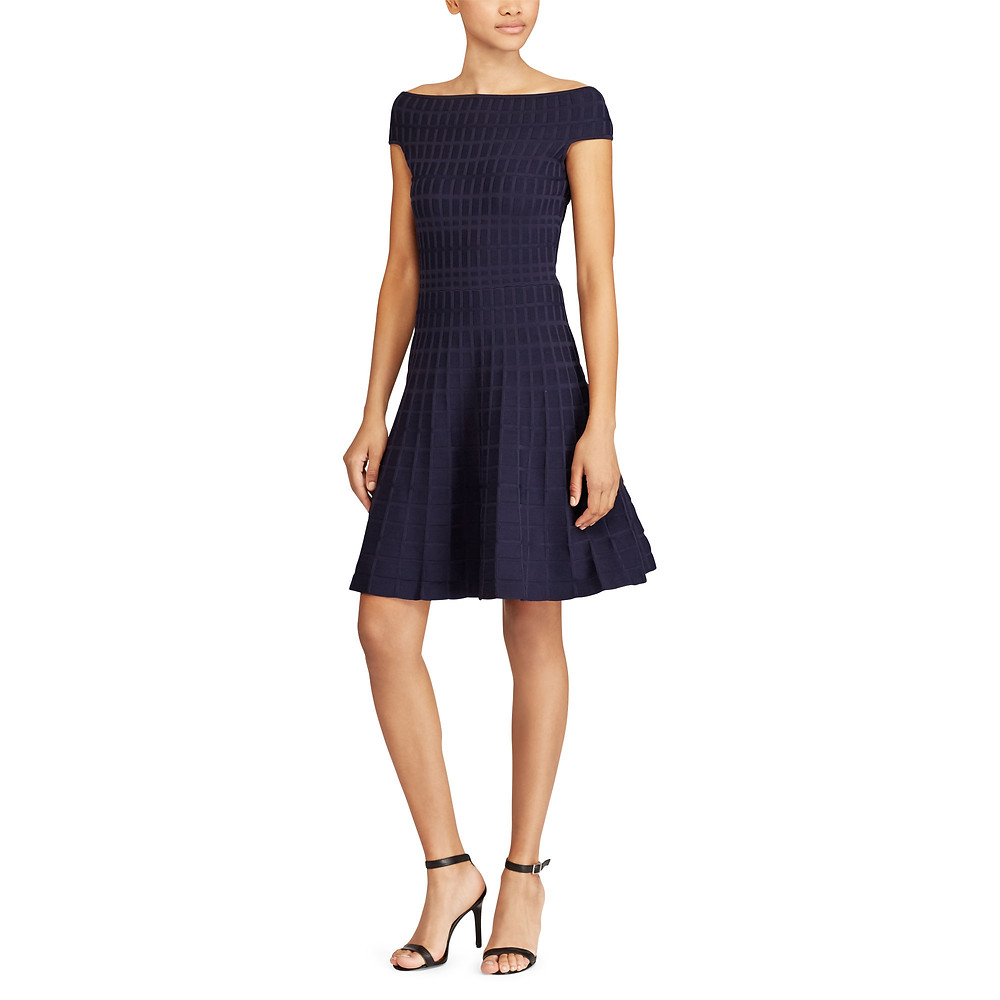 Lauren Fit-and-Flare Dress