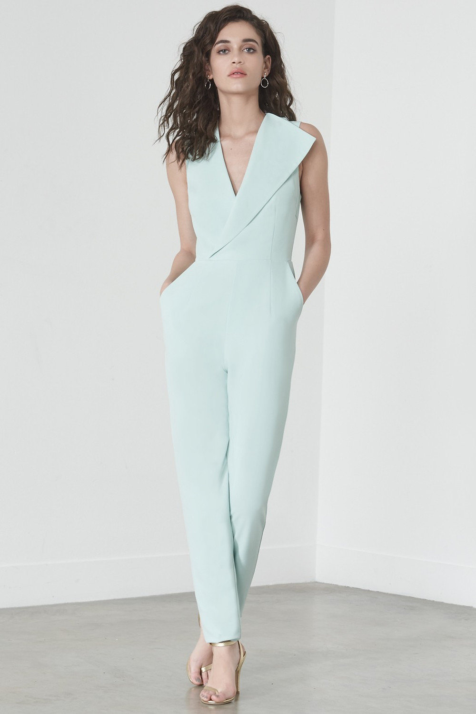 Saint Laurent Asymmetric Draped Mini Dress