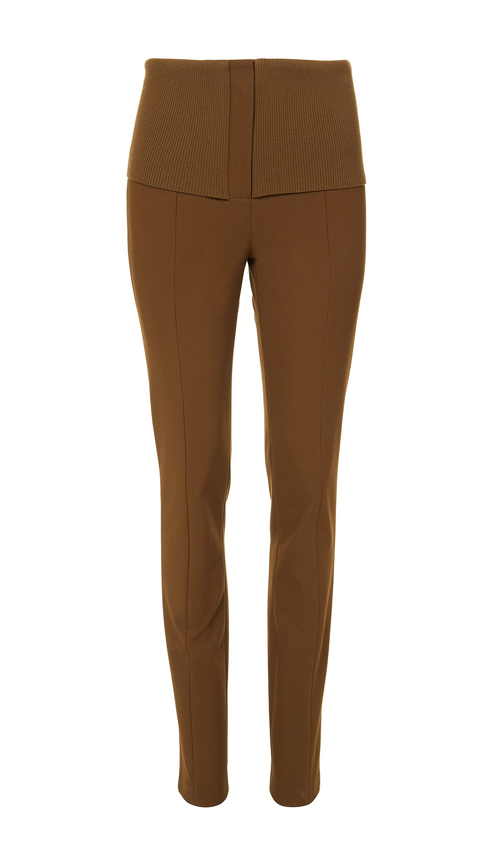 Tibi Anson Stretch Camille High Waisted Skinny Trousers