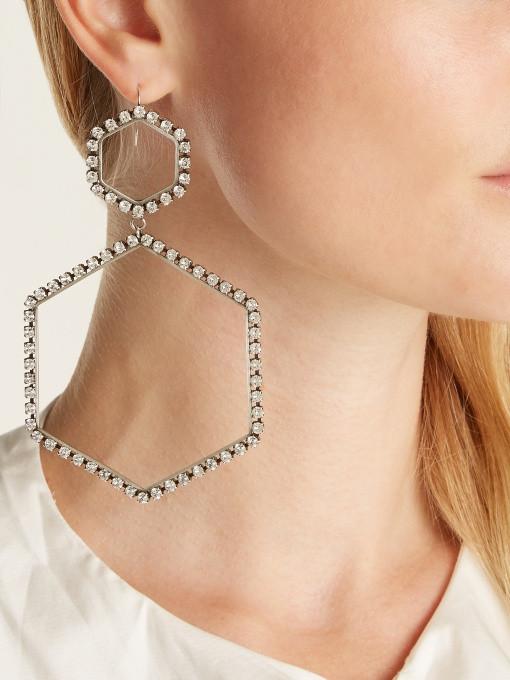 Isabel Marant Here It Is drop earrings