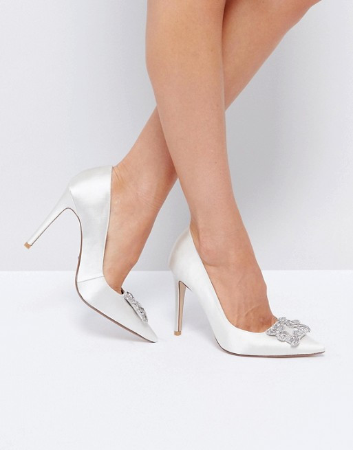 Dune Bridal Breanna Embellished Shoes