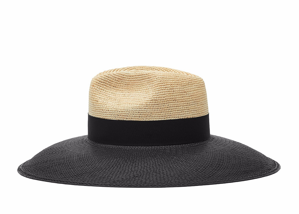 reiss Athos Wide-Brimmed Straw Hat