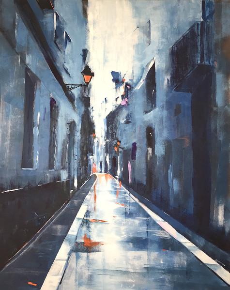 """""""Lost street in Barcelona"""""""