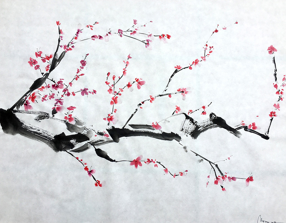 """Sakura Composition n.10"""