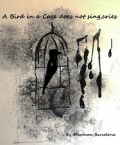 """""""A Bird in a cage"""""""