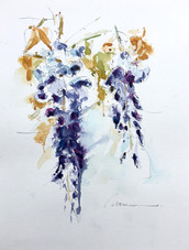 """Composition 104"" - Wisteria"