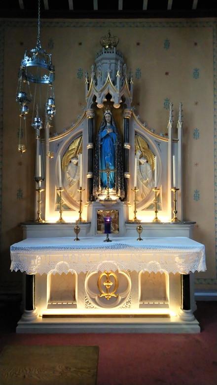 Our Ladies altar