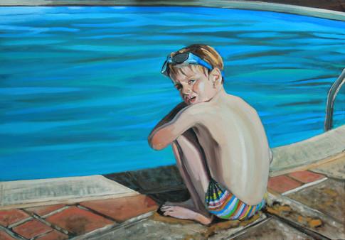 Oliver, pool