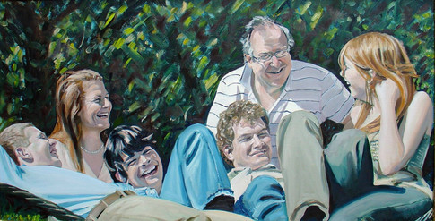 The Falconer family