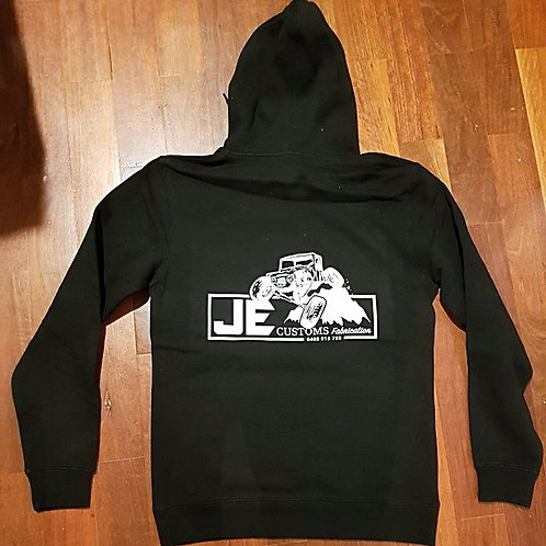 JE Customs Hoodie (Black)