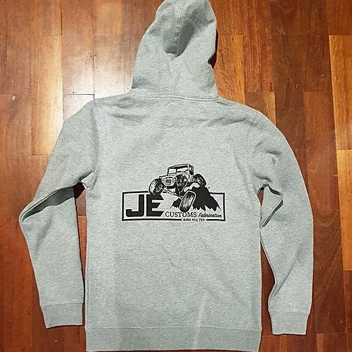 JE Customs Hoodie (Grey)