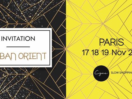 J-7 avant l'ouverture de la boutique éphémère Cigoire Paris