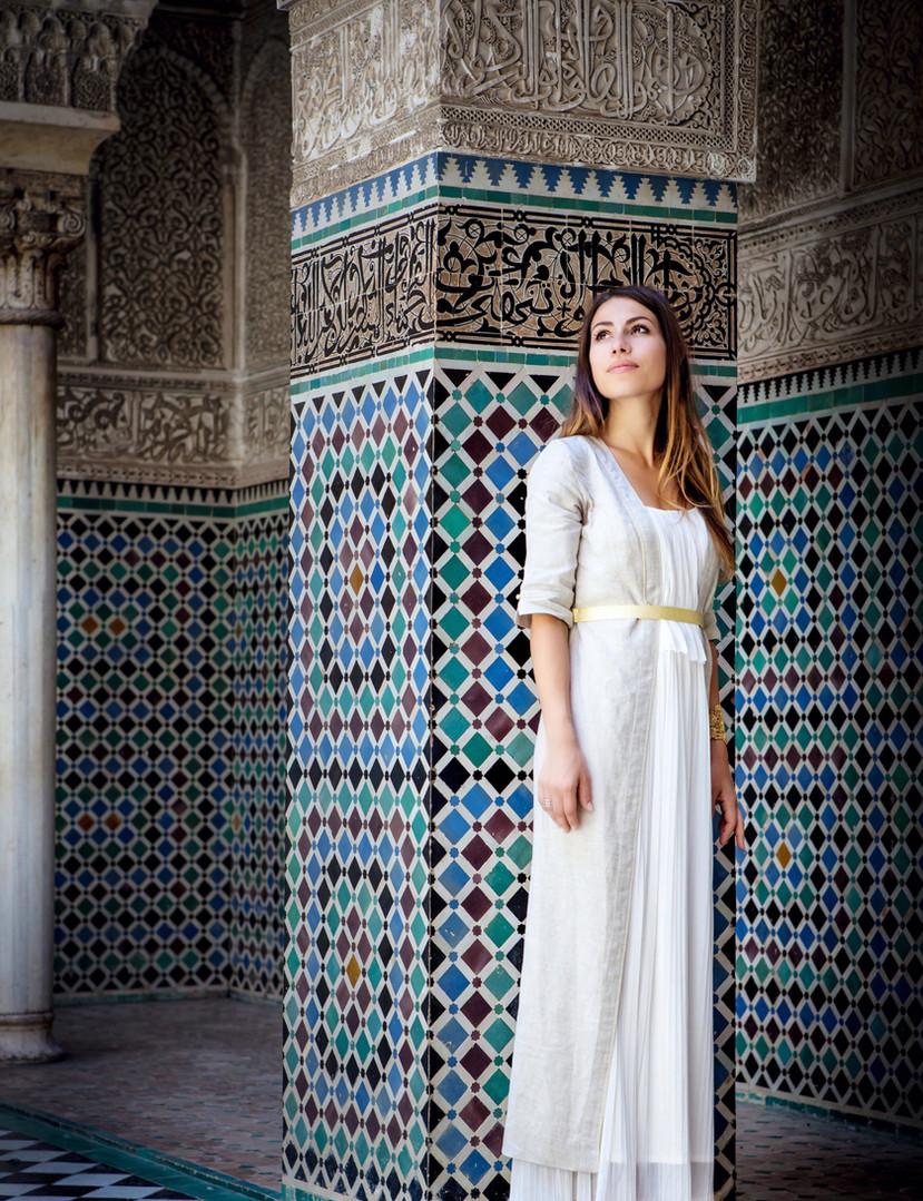 Tenue inspiration marocaine