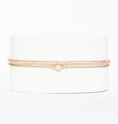 CHARA Rose perle