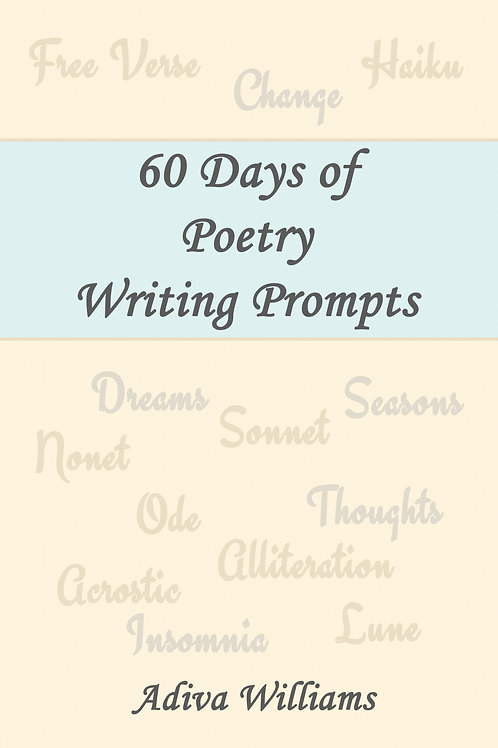 60 Days of Poetry Writing Prompts