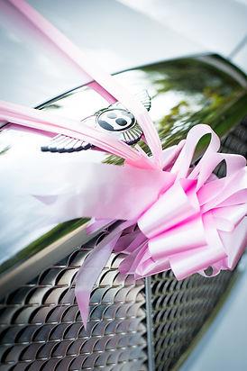 Pink Ribbon on Bentley