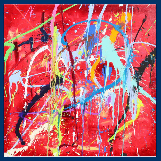 Red abstract - £2,300