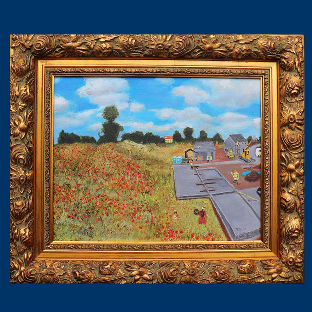 Monet Poppies 2019 - £3,000