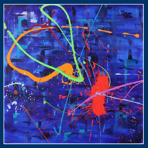 Blue abstract - £2,300