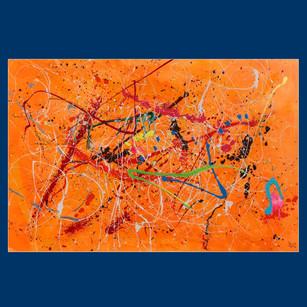 Orange abstract - £3,000