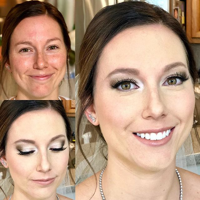 Full airbrush makeup on this beautiful b