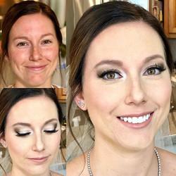 Full airbrush makeup on this beautiful b