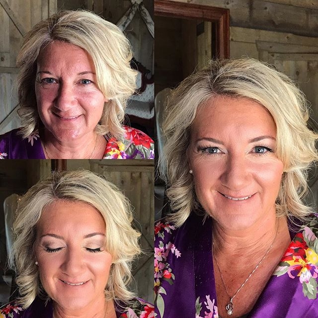 Mother of the 👰🏻 #makeupbyaleah #weddingmakeup #motherofthebridemakeup #airbrushmakeup #minneapoli